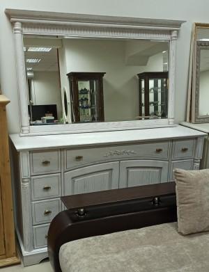 "Комплект мебели тумба ""Паола"" БМ-2113 + зеркало ""Паола"" БМ-2110 (распродажа)"