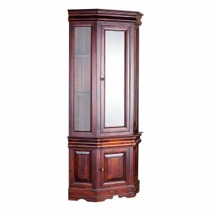 """Шкаф с витриной угловой """"Луи Филипп"""" ОВ 28.04"""