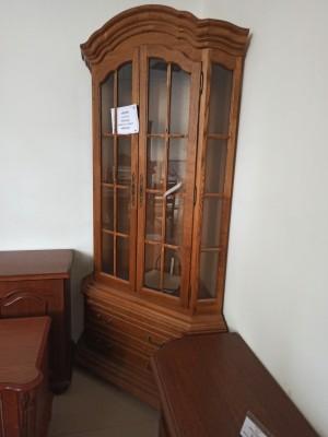 """Шкаф с витриной угловой """"Ноктюрн"""" ГМ 5262 (распродажа)"""