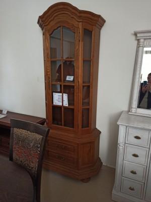 """Шкаф с витриной """"Ноктюрн"""" ГМ 5261 (распродажа)"""