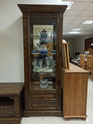 """Шкаф с витриной """"Престиж"""" ГМ 5906Е, ГМ 5906Е-01 (распродажа)"""