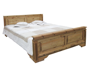 """Кровать двуспальная """"Викинг 01"""""""