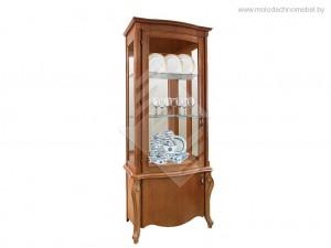"""Шкаф с витриной """"Луиза"""" ММ-257-01, ММ-257-01/01"""