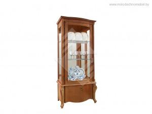 """Шкаф с витриной """"Луиза"""" ММ-257-10, ММ-257-10/01"""