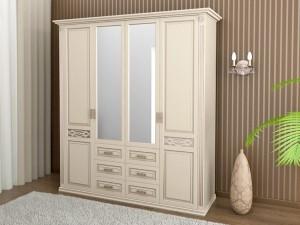 "Шкаф для одежды четырёхстворчатый ""Верона"""