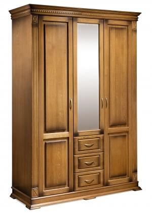 """Шкаф для платья и белья """"Верди Люкс"""""""