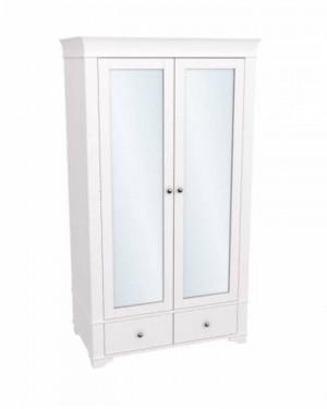 """Шкаф для одежды двухдверный с зеркалами """"Бейли"""""""