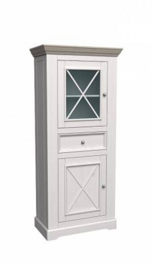 """Шкаф с витриной низкий """"Форест"""""""