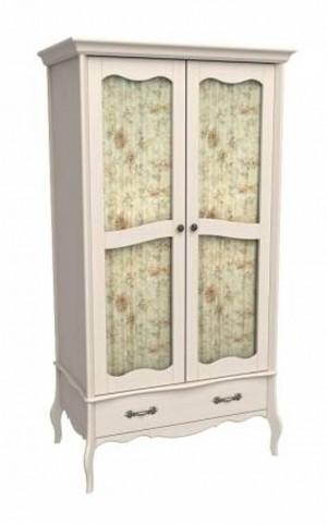 """Шкаф для одежды со стеклом """"ЛеБо"""""""