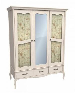 """Шкаф для одежды со стеклом и зеркалом """"ЛеБо"""""""
