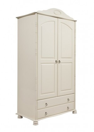 """Шкаф для одежды двустворчатый с ящиками """"Айно"""""""