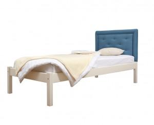 """Кровать мягкая с накладной спинкой """"Классик 2/1"""""""